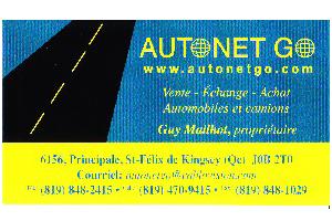 Carte d'affaire Autonet Go