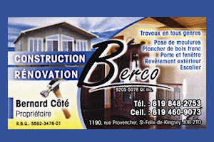 Construction - Rénovation BERCO