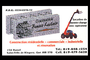 Construction Benoit Leclair inc.