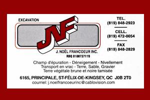 Carte J.Noël Francoeur