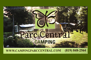 Carte d'affaire Camping Parc Central