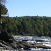 Vue de la rivière St-François à St-Félix