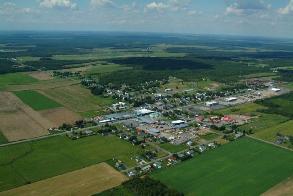 Vue aérienne St-Félix