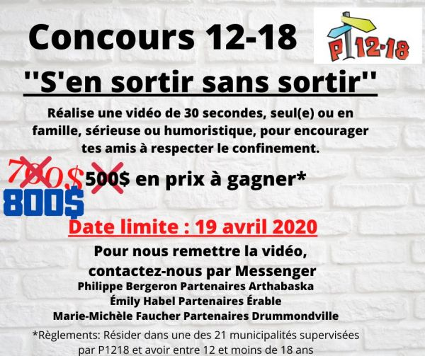 Concours 12-18