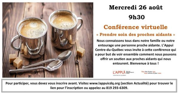 Conférence 26 août