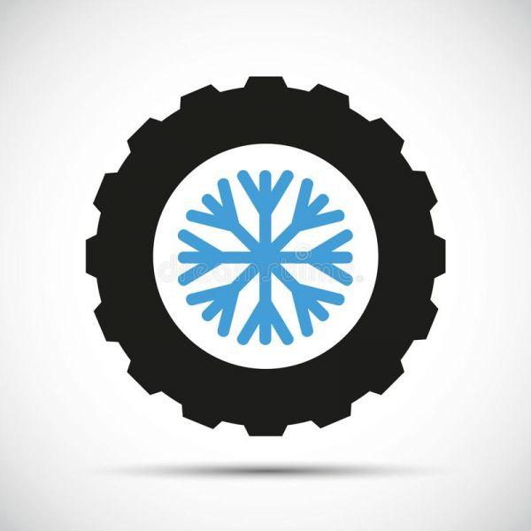 installation des pneus d'hiver